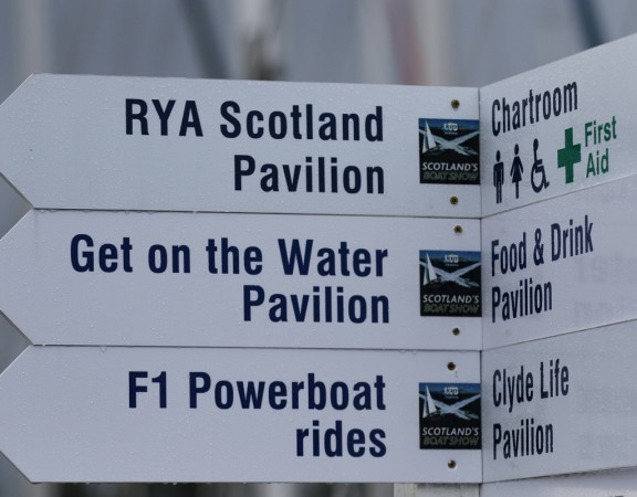Scotland's Boat Show here at Kip Marina Inverkip which has now grown into the largest brokerage show in the UK 17 October 2016 © Paul Tipping