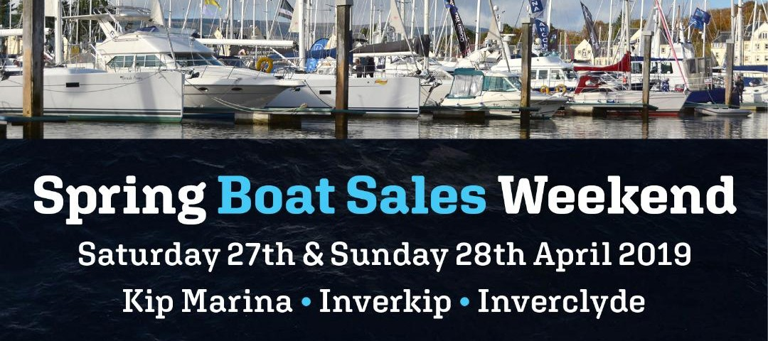 Spring Boat Sales Weekend Graphic