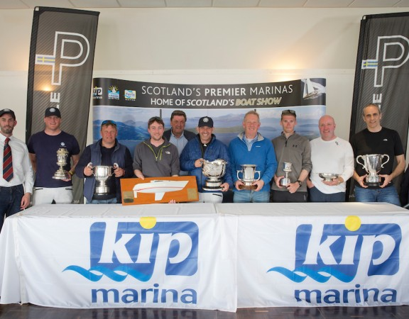 Pelle P Kip Regatta 2019 Prizegiving  All Winners