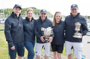 Pelle P Kip Regatta 2019 Prizegiving Winning crew - Animal
