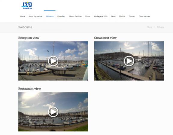 Webcam Page
